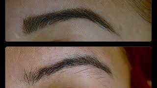 eyebrow waxing tutorial