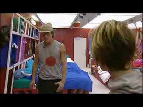 Big Brother 8 UK: Chanelle and Ziggy ARGUE