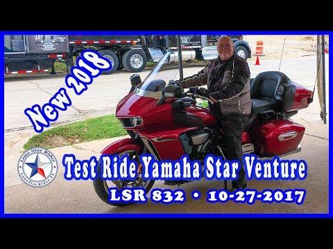 LSR: 832 • 2018 Yamaha Venture Test Ride • 10-27-2017