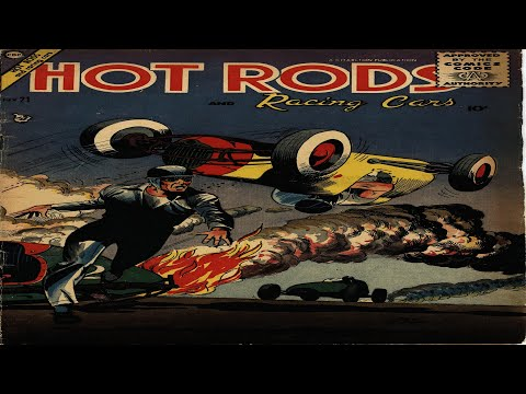 Hot Rods and Racing Cars No 21 Comix Book Movie