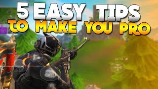 5 TIPS You NEED To KNOW BEFORE Playing Fortnite Mobile (Android, IOS)