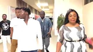 Fancy Gadam Arrives From Tamale For The Afrimawards Calendar Unveiling In Ghana
