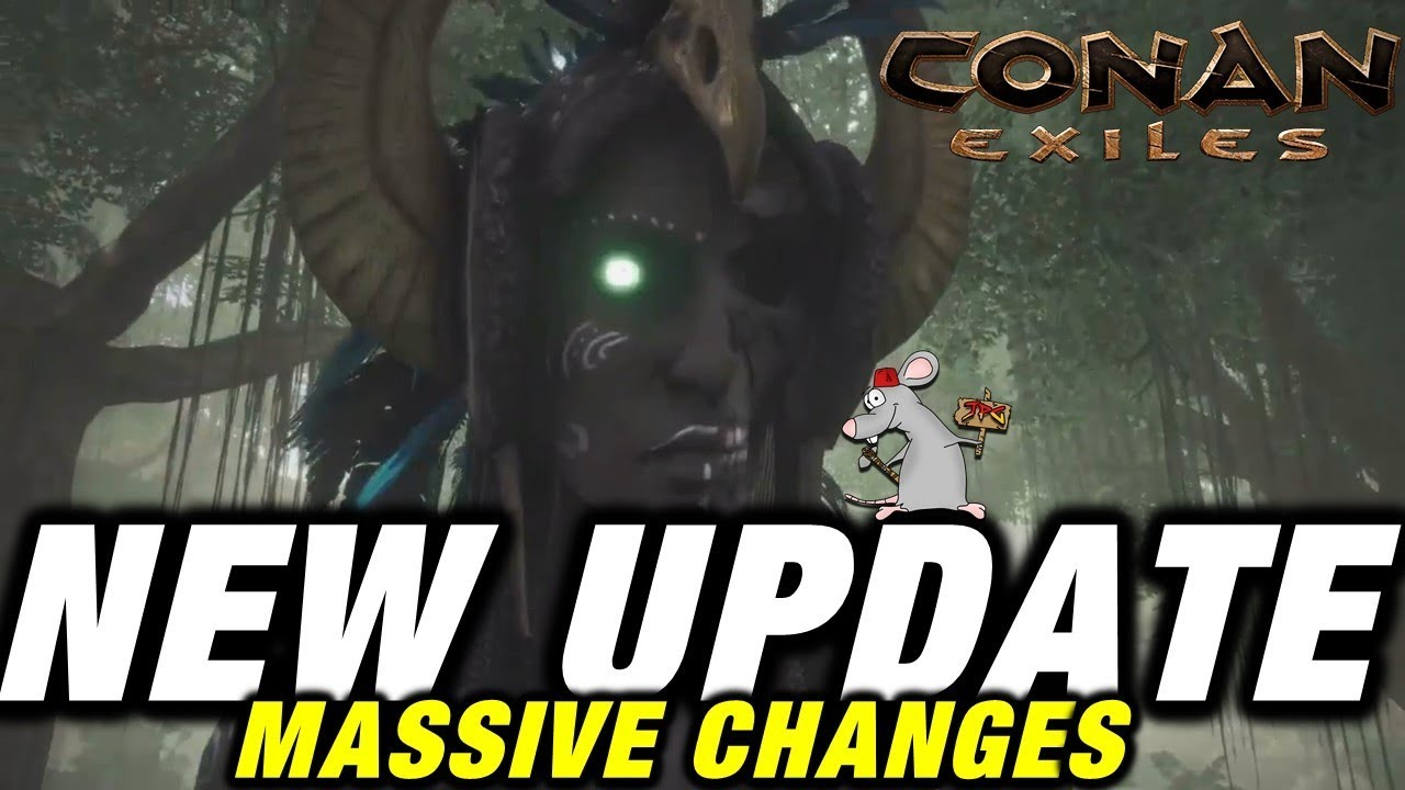 CONAN EXILES NEW UPDATE XBOX ONE PC - IS IT ANY GOOD NOW? - NEW COMBAT!  BIOMES AVATARS SOON