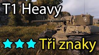 World of Tanks -  T1 Heavy - Tři znaky