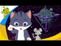 Pussy Cat Pussy Cat Nursery Rhyme Space Edition | Songs For Kids