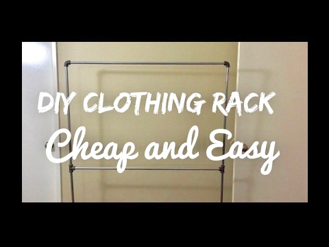 DIY Clothing Rack!