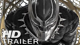 BLACK PANTHER Trailer 2 Deutsch German (2018)