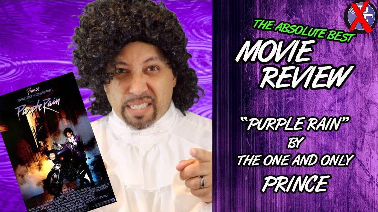 A Real Purple Rain Movie Review from a Rabid 80s Prince Fan (Skit)