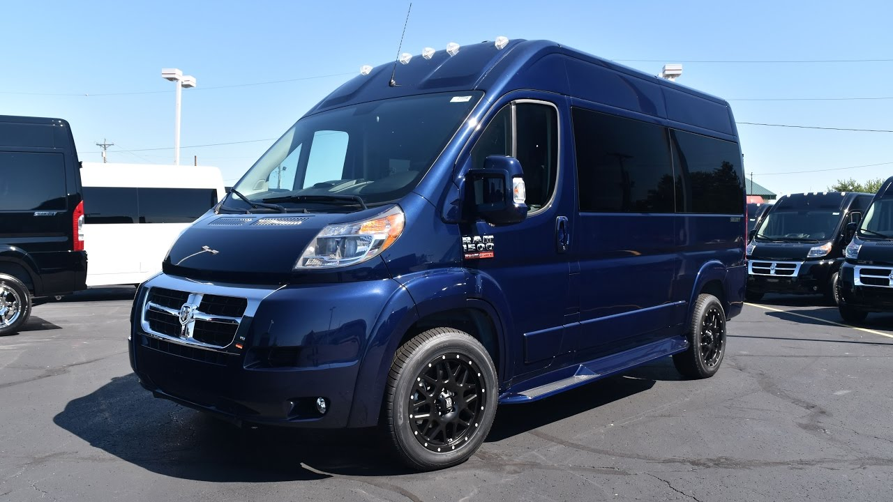 Dodge Ram Promaster >> 2016 Ram ProMaster 7 Passenger High-Top Conversion Van By Sherry Vans Walkthrough | 27734T - YouTube