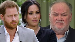 Meghan Markle's Dad Thomas REACTS To Oprah  Nterview
