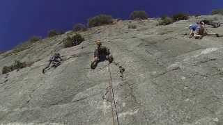 Rock Climbing El Chorro Spain.....with  https://www.facebook.com/GiddyGallyAdventures?fref=ts thumbnail