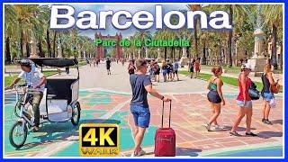 【4K】WALK BARCELONA Spain walking BARNA 4k video TRAVEL VLOG