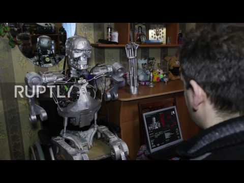 Russia: 3D-printed Terminator hopes his 'life form will coexist with the human race'