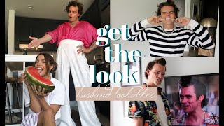 GET THE LOOK: Husband Edition | turning him into his look-alikes?!