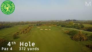 Orsett Golf Club 4th Hole Flyover