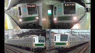 2018年11月に引退した東京メトロ千代田線6000系の過去動画集