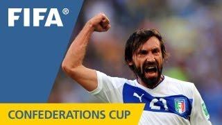 Mexico 1:2 Italy, FIFA Confederations Cup 2013
