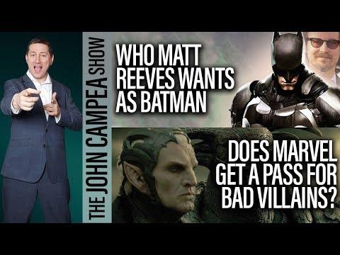 Who Matt Reeves Wants As Batman, Is Basmati Blues Culturally Insensitive? The John Campe