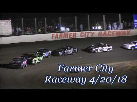 2018 Opening Night At Farmer City  Street Stocks