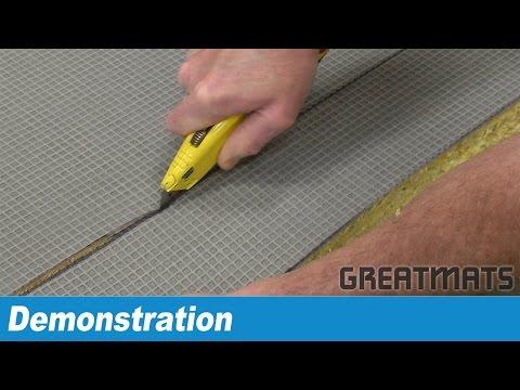 How to Cut Greatmats 1x2 Meter Martial Arts Tatami Mats