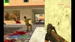 Counter Strike 1.6 cs_italy Gungame Playthrough