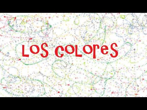 Los colores - I colori in spagnolo - The colors in Spanish