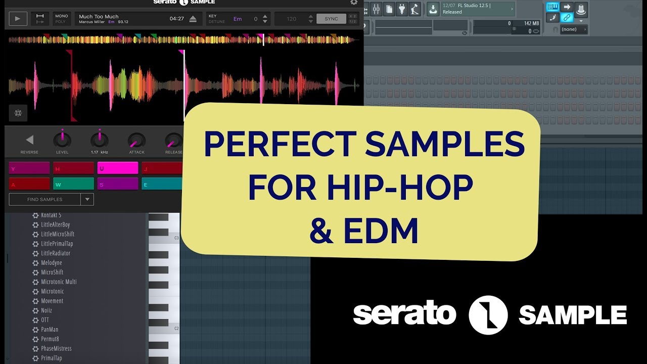 #5 Serato Sample tutorial - working with samples made easy!