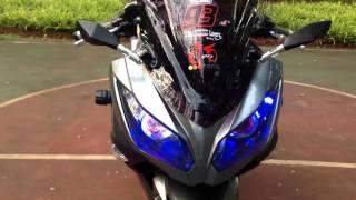 ninja 250fi full modif review(dejavu speed motor)