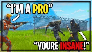 Getting CARRIED by GEORGE LOPEZ in Fortnite! (He's actually insane...)