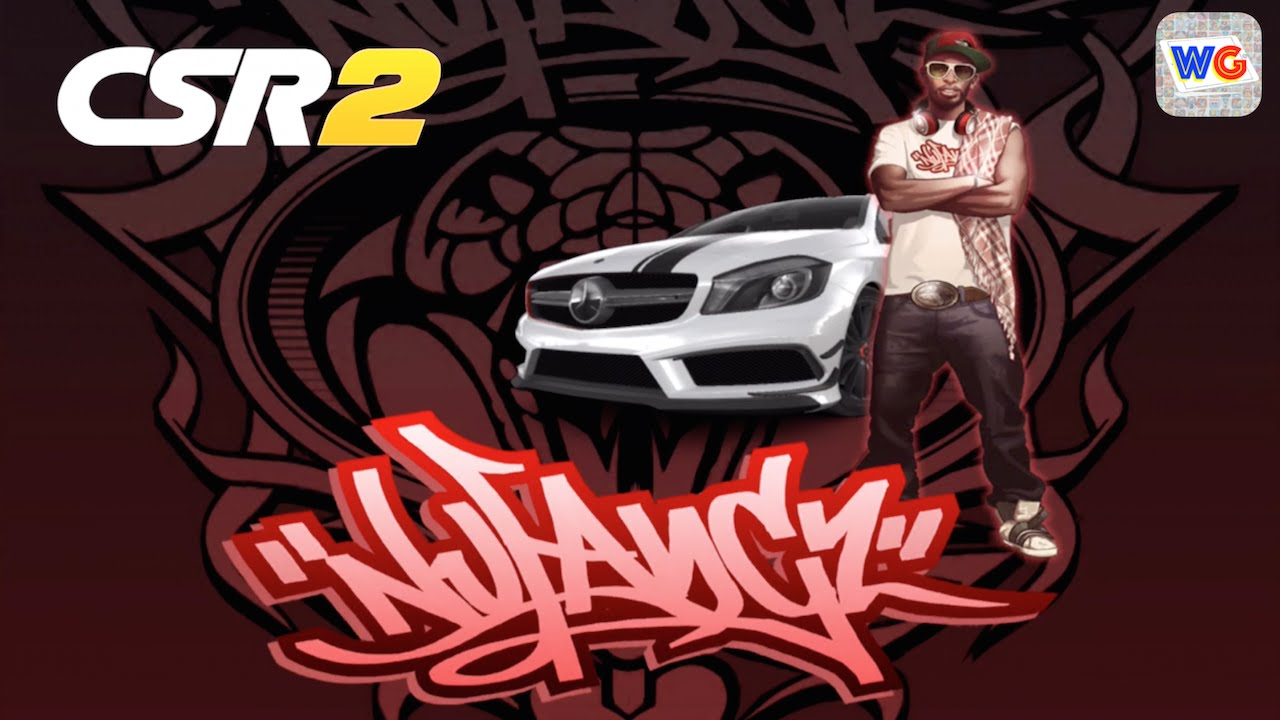 Csr racing 2 nu fangz crew tier 1 boss and his a 45 amg car youtube