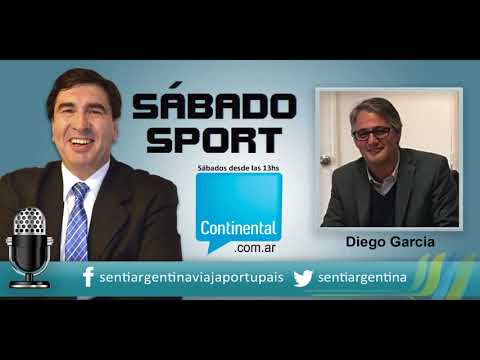 AM590 RADIOCONTINENTAL. Nota a Diego García / Sábado Sport-Leo Uranga/Seronero-Turismo