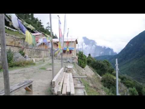 Upper Pisang monastery. Sept 2012
