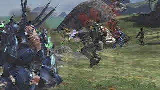 Halo 3 AI Battle - Covenant vs UNSC