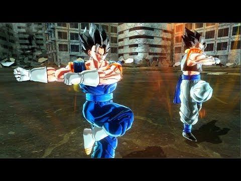 Vegito and Gogeta Fusion Dance - Dragon Ball Xenoverse 2 Mods