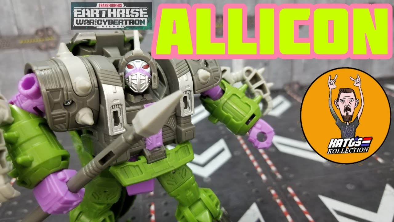 Transformers Earthrise Allicon Review By Kato's Kollection