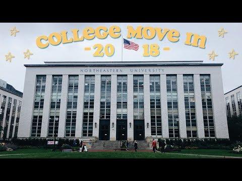 COLLEGE MOVE IN VLOG 2018   Northeastern University