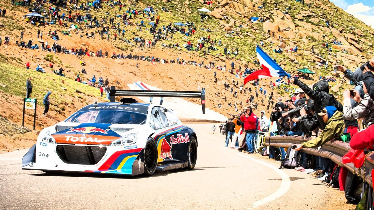 Sébastien Loeb S Record Setting Pikes Peak Run Full Pov