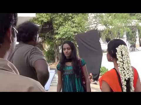 Heroin is in Shooting Love Life Telugu Movie Ramanaidu Studios Hyderabad India
