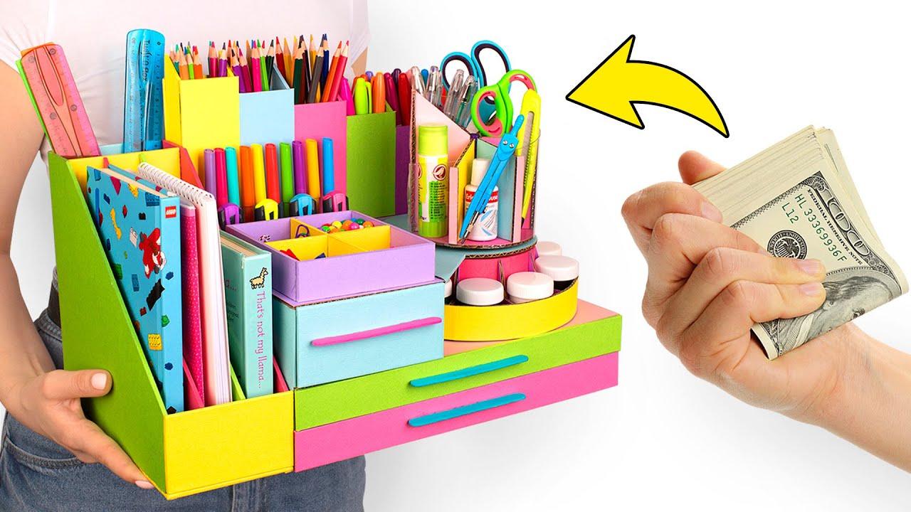 Un organizador de escritorio con compartimento secreto🕵🏻♀️