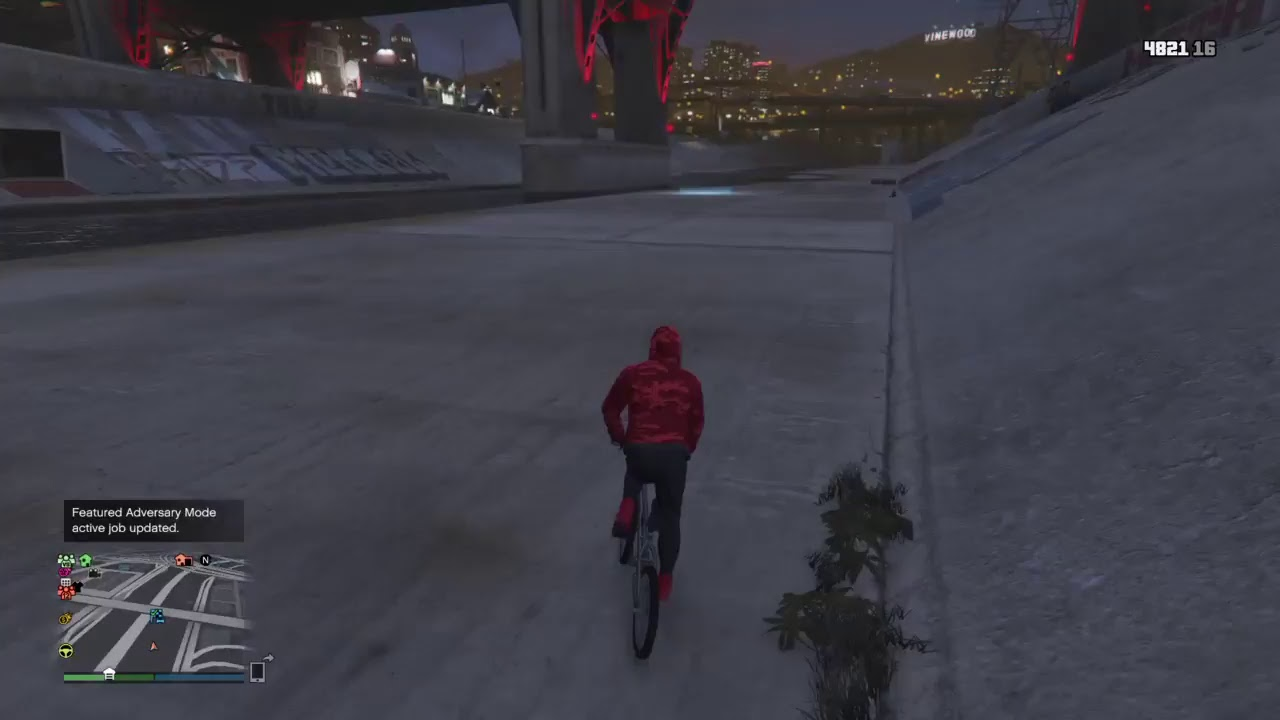 How To Go Fast On A Bmx Bicycle Gta5 Youtube