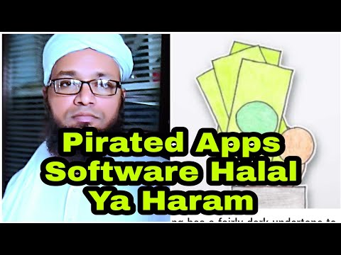 Pirated OS Ya Mobile Apps, Cracked Software Use Karna Halal Ya Haram