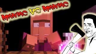 Frost & Parnisha VS Maniac! В Погне за маньяком! №3 (Испытания Маньяка)