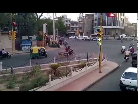 Rajasthan Tourism Modern Jaipur visit pink city view from open bus 2