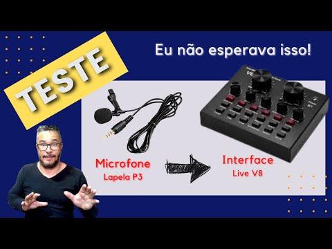 TESTE - Microfone