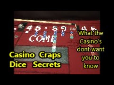 Craps Hacking| Casino Craps , Dice Secrets | What They Don't Want You To Know
