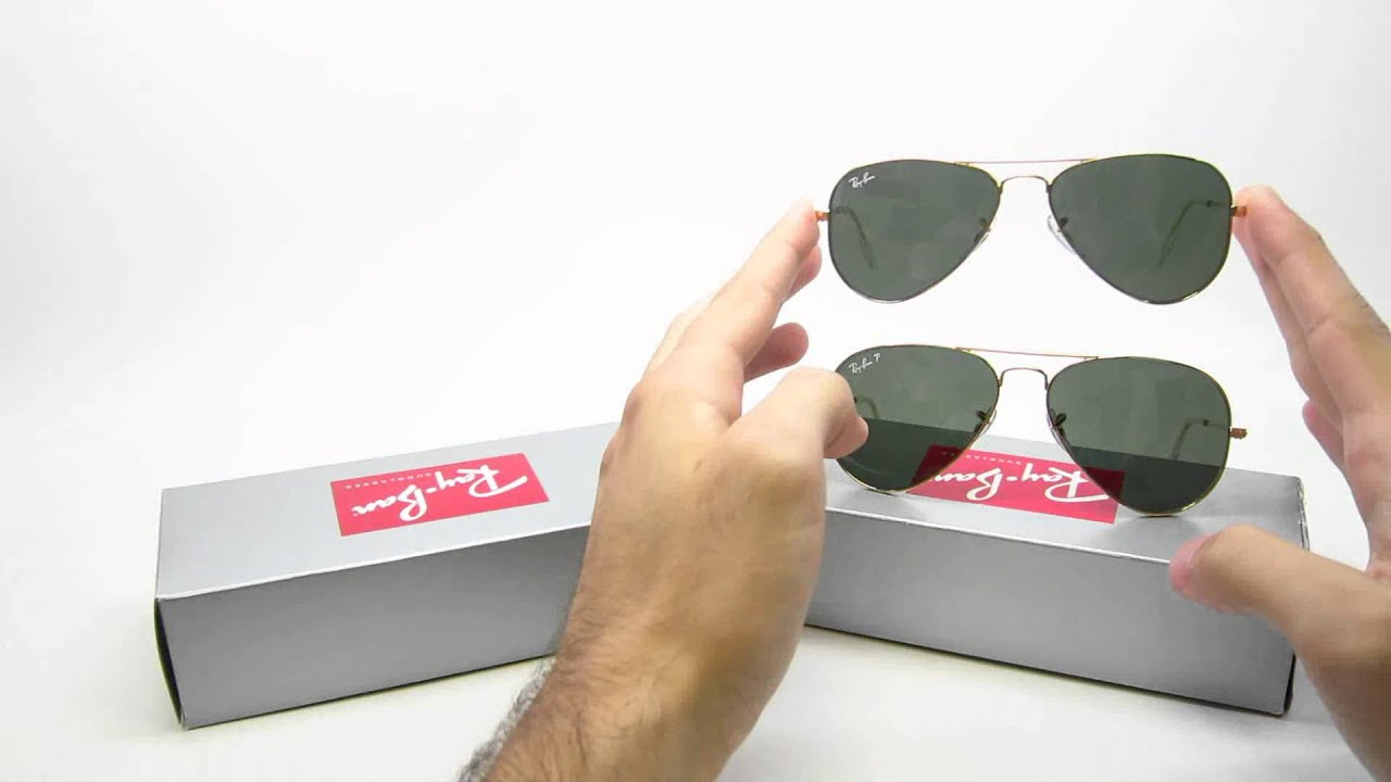difference between ray ban 3025 and 3044