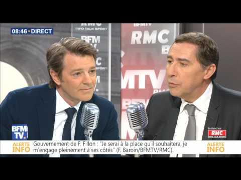 BOURDIN DIRECT François BAROIN du 18/04/17