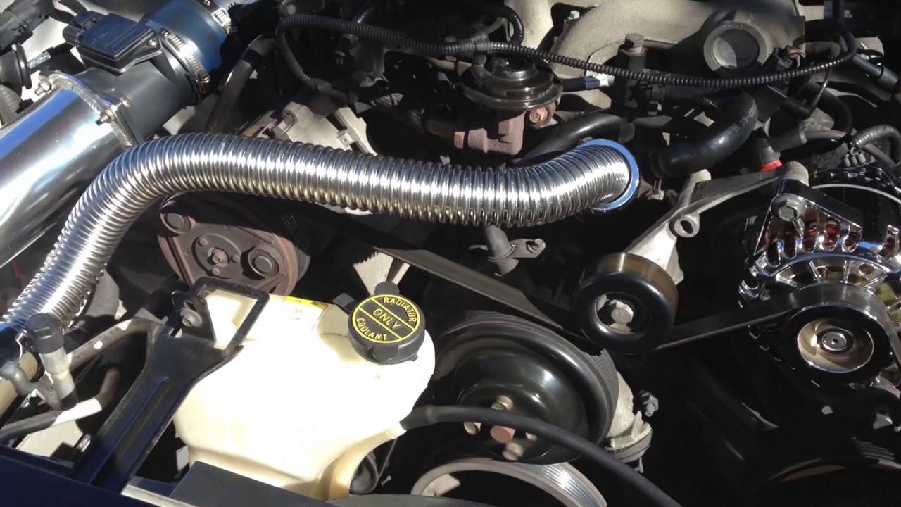 Part 3 of my radiator chrome hose installed & Part 3 of my radiator chrome hose installed - YouTube