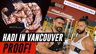 Hadi Choopan is in Vancouver! & Competing in Vancouver Pro