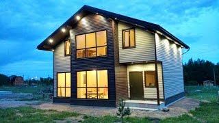 GoodVill - Строительство домов и коттеджей(Современный каркасный дом для постоянного проживания., 2015-06-05T13:14:48.000Z)